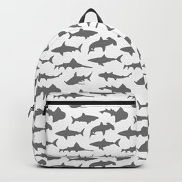 Grey Sharks Backpack