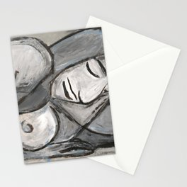 Grey Nude Stationery Cards