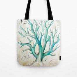 Blue Coral No. 2 Tote Bag