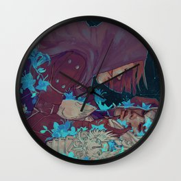 Leliana/Warden Wall Clock