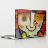instagram Laptop & iPad Skins featuring Miss Instagram  by SheThinksinColors