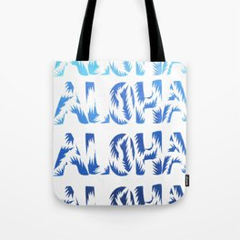 Aloha Blues Tote Bag