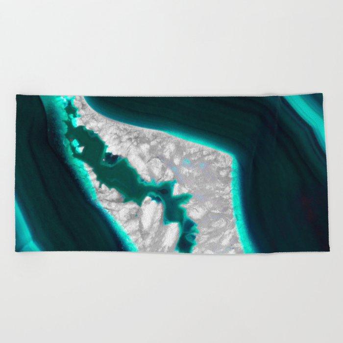 Fluo Agate Beach Towel