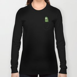Pickle Rick Pocket! I'm Pickle Riiiiiiiick! Long Sleeve T-shirt