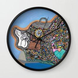 Bubble Boat Wall Clock