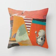 Prince of Orange Throw Pillow