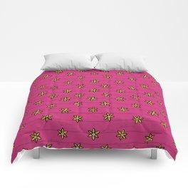 zuhur pink Comforters