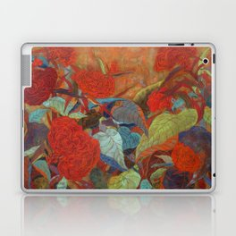 flower3【Japanese painting】 Laptop & iPad Skin