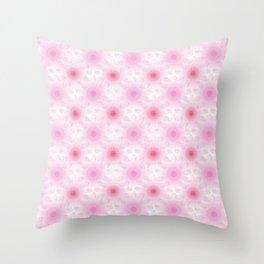 Fiorellini geometrici Throw Pillow
