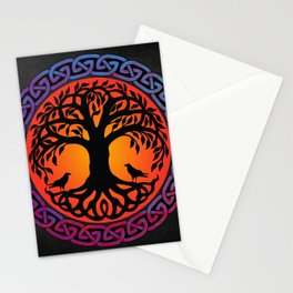 Viking Yggdrasil World Tree Stationery Cards