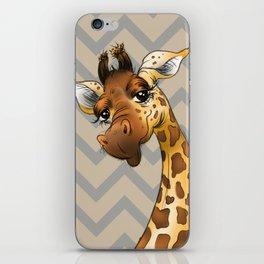 Chevron Giraffe! iPhone Skin