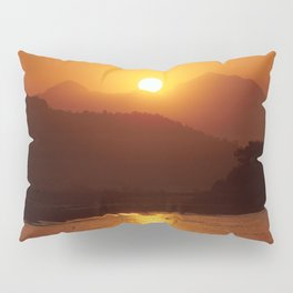 Beautiful Sunset - Red #2 Pillow Sham