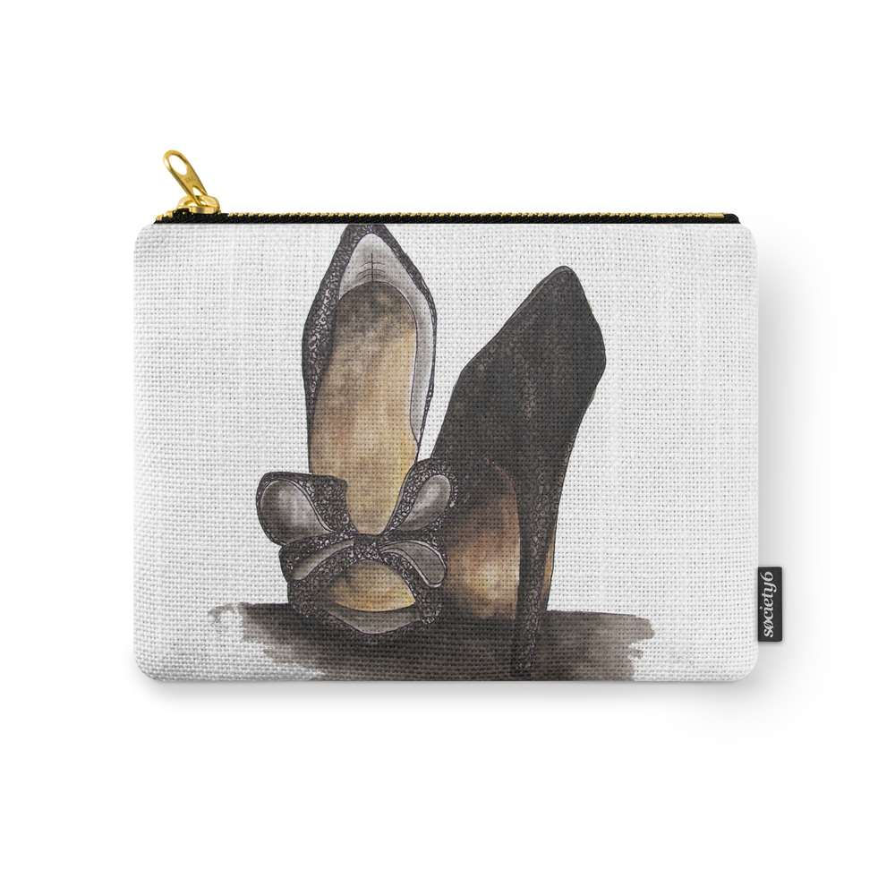 My Shoes Carry-All Pouch by susanaguaderrama