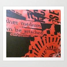 RED1 Art Print