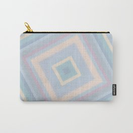 rotated square caro in pastel colors Carry-All Pouch