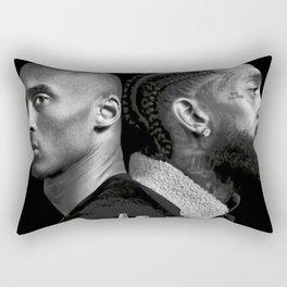Los Angeles Legends - Nipsey Hussle - Rapper Rectangular Pillow