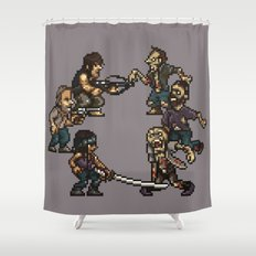 The Slugging Dead Shower Curtain