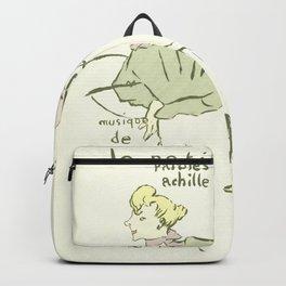 "Henri de Toulouse-Lautrec ""The Dressmaker's Little Errand Girl (Le petit trottin)"" Backpack"