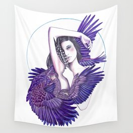 Eagle Woman Wall Tapestry