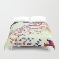 maps Duvet Covers featuring Maps by MonsterBrown