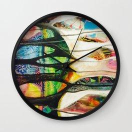 Spirit Feathers Wall Clock