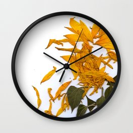 Sunflower 02 Wall Clock