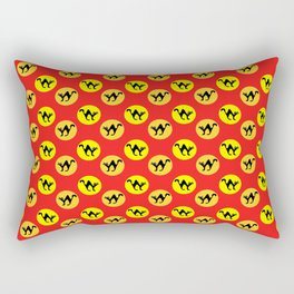 Halloween cat pattern Rectangular Pillow