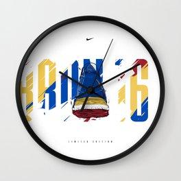 Lebron 16 SB Back Wall Clock