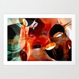 cups chups Art Print