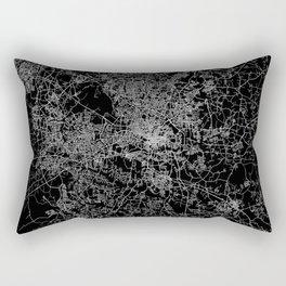 raleigh map north carolina Rectangular Pillow