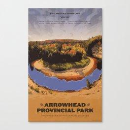 Arrowhead Provincial Park Canvas Print