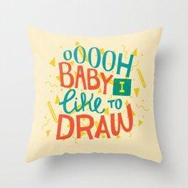 Shimmy Shimmy Throw Pillow