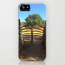 Traditional Menorcan Gate iPhone Case