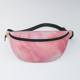Rose Mineral Marbled Agate Fanny Pack