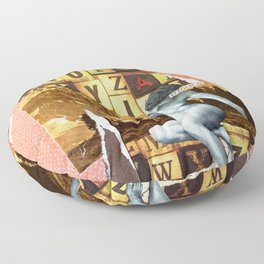 Elegiacal Floor Pillow