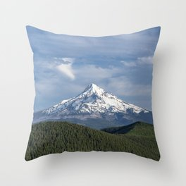 Mt Hood Oregon Throw Pillow