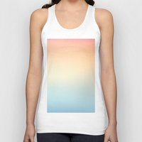 gradient Tank Tops featuring Gradient Sun by Alexandra Str