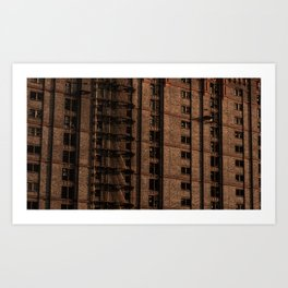 Tobacco Factory Windows Art Print