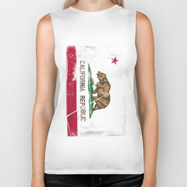 CALIFORNIA FLAG Biker Tank