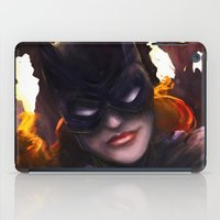 batgirl iPad Cases featuring Batgirl by Nicole M Ales