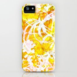 Golden Shine iPhone Case