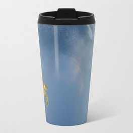 hawksbill swimming in the sky Travel Mug