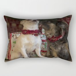 chiwawa love Rectangular Pillow