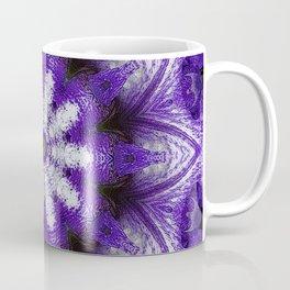 Glowing Violet Star - Iris Stepping Out Kaleidoscope Coffee Mug