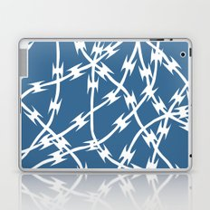 Blue Barb Laptop & iPad Skin