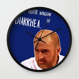 48-hour window  of DIARRHEA Wall Clock