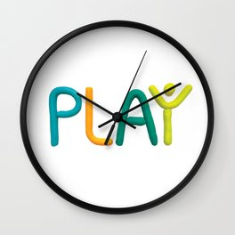 PLAY (Cool) Wall Clock