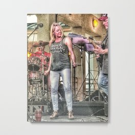 Rock And Roll Music Metal Print