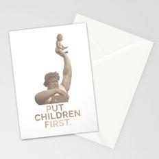 Put Children First Stationery Cards