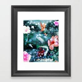 Mystical Morning Framed Art Print